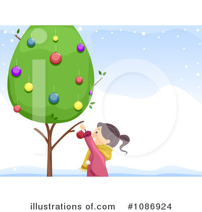 Christmas Tree Clipart #1086924 by BNP Design Studio
