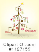 Christmas Tree Clipart #1127159