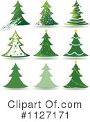 Christmas Tree Clipart #1127171