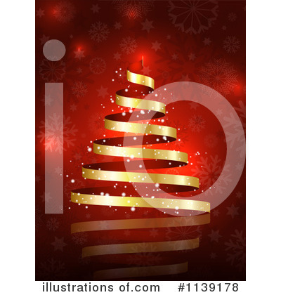 Christmas Background Clipart #1139178 by KJ Pargeter