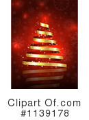 Royalty-Free (RF) Christmas Tree Clipart Illustration #1139178