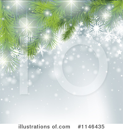Christmas Background Clipart #1146435 by dero
