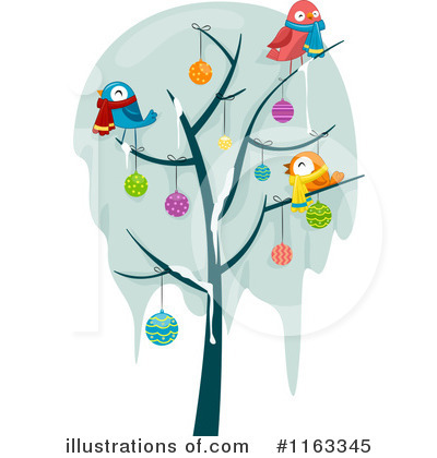 Christmas Tree Clipart #1163345 by BNP Design Studio