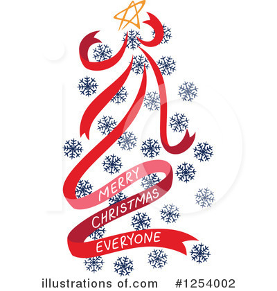 Snowflakes Clipart #1254002 by Cherie Reve