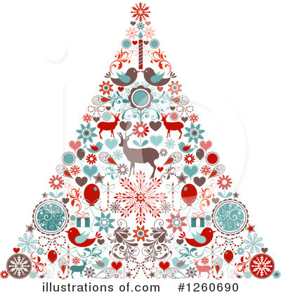 Christmas Tree Clipart #1260690 by OnFocusMedia