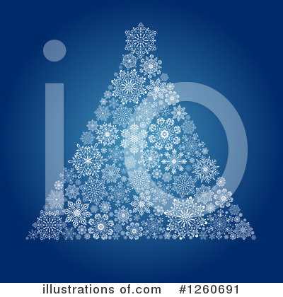 Christmas Tree Clipart #1260691 by OnFocusMedia
