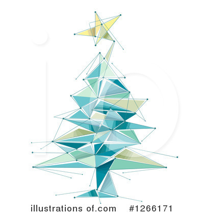 Christmas Tree Clipart #1266171 by BNP Design Studio