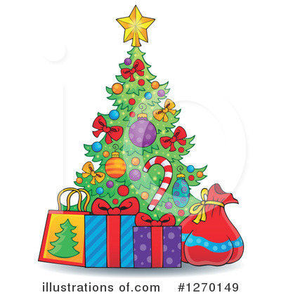 Christmas Gift Clipart #1270149 by visekart