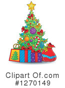 Christmas Tree Clipart #1270149 by visekart