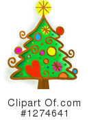 Christmas Tree Clipart #1274641 by Prawny