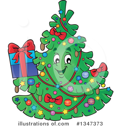 Christmas Gift Clipart #1347373 by visekart