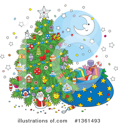 Christmas Clipart #1361493 by Alex Bannykh