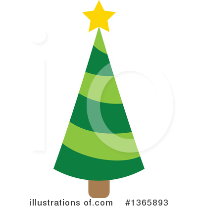 Christmas Tree Clipart #1365893 by visekart