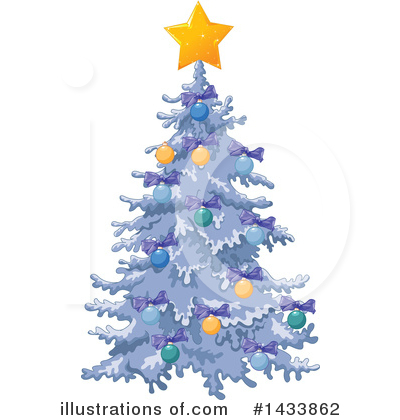 Christmas Tree Clipart #1433862 by Pushkin