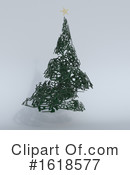 Christmas Tree Clipart #1618577 by KJ Pargeter