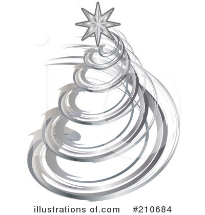 Christmas Tree Clipart #210684 by MilsiArt