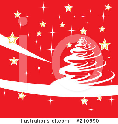 Christmas Background Clipart #210690 by MilsiArt
