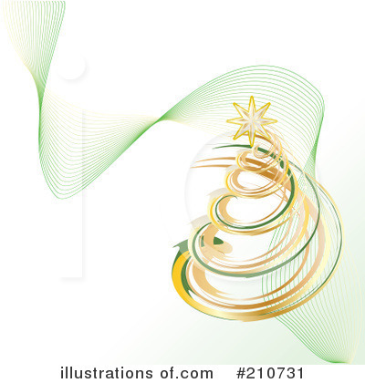 Christmas Tree Clipart #210731 by MilsiArt