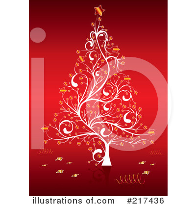 Christmas Tree Clipart #217436 by MilsiArt