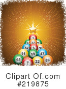 Royalty-Free (RF) Christmas Tree Clipart Illustration #219875