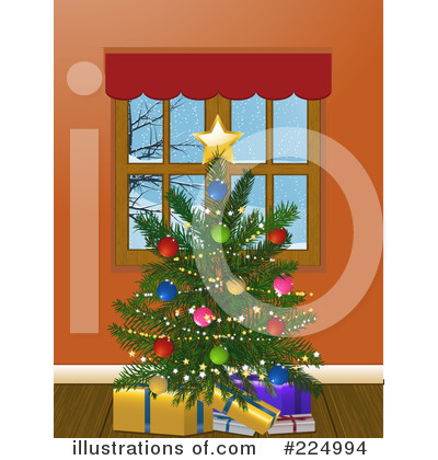 Christmas Tree Clipart #224994 by elaineitalia