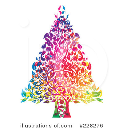 Christmas Tree Clipart #228276 by MilsiArt