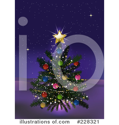 Christmas Tree Clipart #228321 by elaineitalia