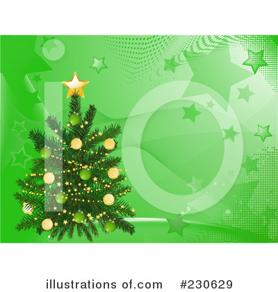 Christmas Tree Clipart #230629 by elaineitalia