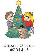Christmas Tree Clipart #231416 by visekart