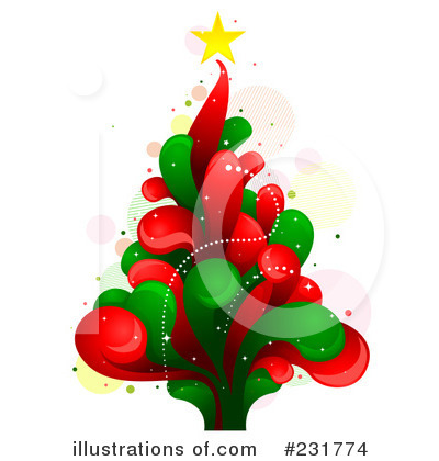 Christmas Tree Clipart #231774 by BNP Design Studio