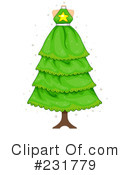 Christmas Tree Clipart #231779