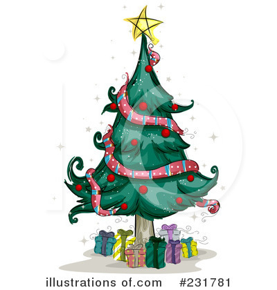 Christmas Tree Clipart #231781 by BNP Design Studio