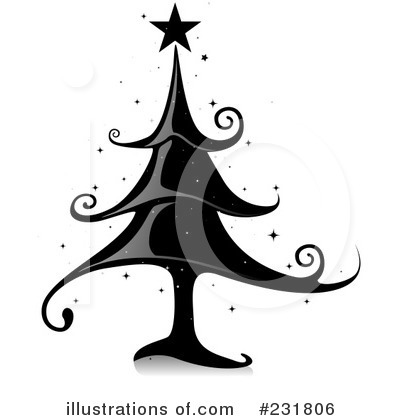 Christmas Tree Clipart #231806 by BNP Design Studio