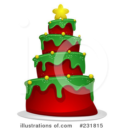 Christmas Tree Clipart #231815 by BNP Design Studio