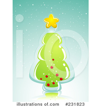 Christmas Tree Clipart #231823 by BNP Design Studio
