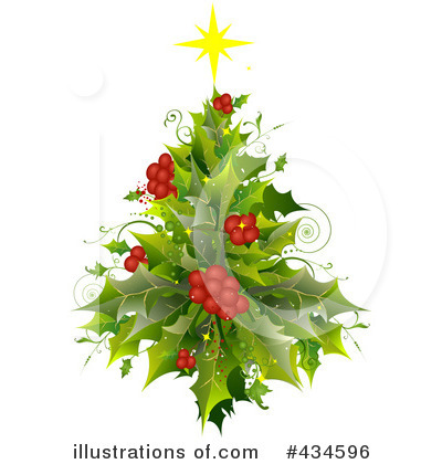 Christmas Tree Clipart #434596 by BNP Design Studio