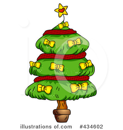 Christmas Tree Clipart #434602 by BNP Design Studio