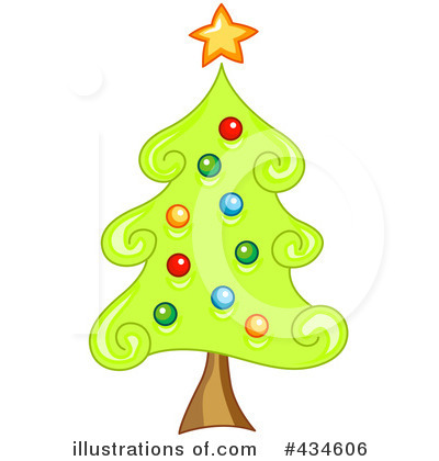 Christmas Tree Clipart #434606 by BNP Design Studio