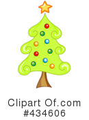 Christmas Tree Clipart #434606