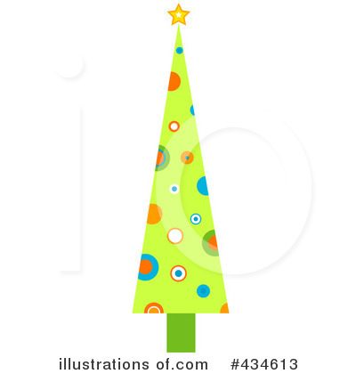 Christmas Tree Clipart #434613 by BNP Design Studio
