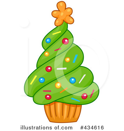 Christmas Tree Clipart #434616 by BNP Design Studio