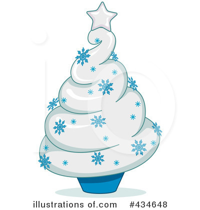 Snowflakes Clipart #434648 by BNP Design Studio