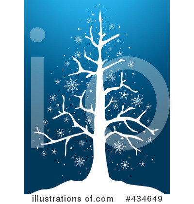 Royalty-Free (RF) Christmas Tree Clipart Illustration by BNP Design Studio - Stock Sample #434649