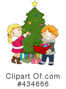 Christmas Tree Clipart #434666 by BNP Design Studio