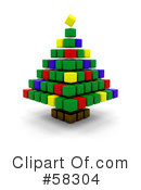 Christmas Tree Clipart #58304