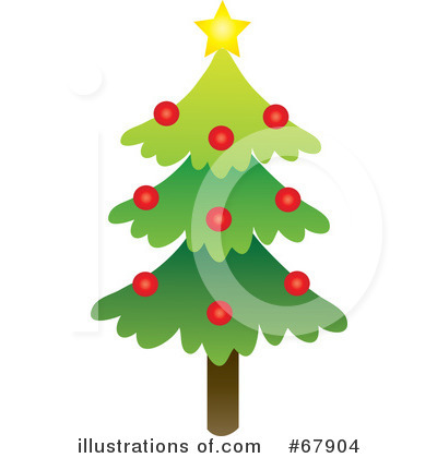 Christmas Tree Clipart #67904 by Rosie Piter