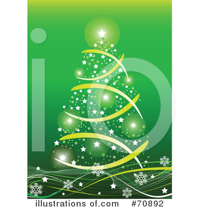 Christmas Tree Clipart #70892 by Pushkin