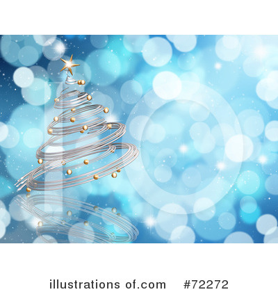 Christmas Tree Clipart #72272 by KJ Pargeter