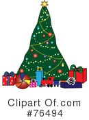 Christmas Tree Clipart #76494