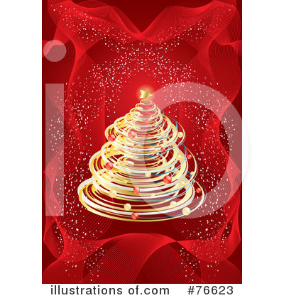 Christmas Tree Clipart #76623 by MilsiArt